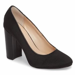 New Women's Botkier Block Heel Pump Black